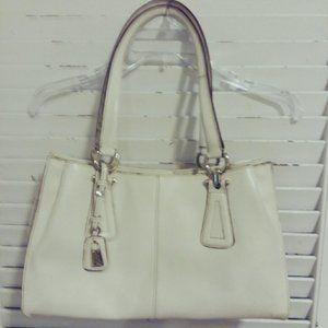 Cream Colored Liz Claiborne Hand Bag